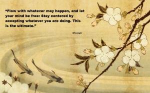 Japanese Carp Art Wallpaper 1920X1200_2